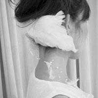 羽のヘッドドレス2