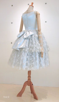 ミニ丈ドレス*お色直し-back-