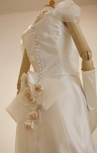 マーメイドドレス-back-