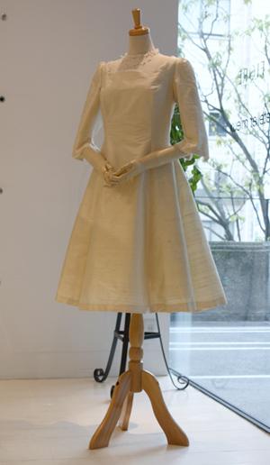 お食事会用ドレス-front-