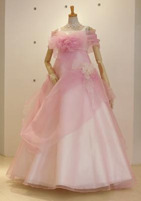 2WAYピンクドレス