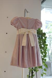 子どもドレス- ラベンダー