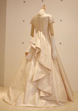 シンプル&クラシックドレス-back-